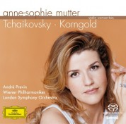 Anne-Sophie Mutter, André Previn, London Symphony Orchestra, Wiener Philharmoniker: Tchaikovsky/ Korngold: Violin Concertos - SACD