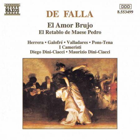 Falla: Amor Brujo (El) / El Retablo De Maese Pedro - CD