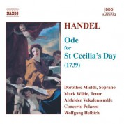 Handel: Ode for St. Cecilia's Day - CD