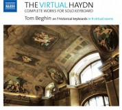 Tom Beghin: The Virtual Haydn: Complete Works for Solo Keyboard - CD