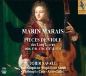 Jordi Savall: Marais: Pieces De Viole (1686, 1701, 1711, 1717, 1725) - SACD