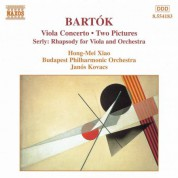 Bartok: Viola Concerto / 2 Pictures, Bb 59 - CD