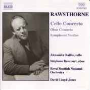 Rawsthorne: Cello Concerto / Oboe Concerto / Symphonic Studies - CD