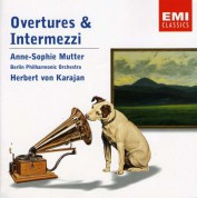 Anne-Sophie Mutter, Berliner Philharmoniker, Herbert Von Karajan: Overtures & Intermezzi - CD