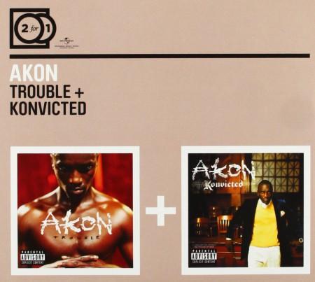 Akon: Trouble / Konvicted - CD