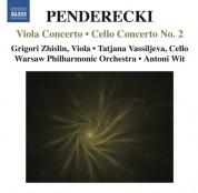Grigori Zhislin: Penderecki: Viola Concerto - Cello Concerto No. 2 - CD