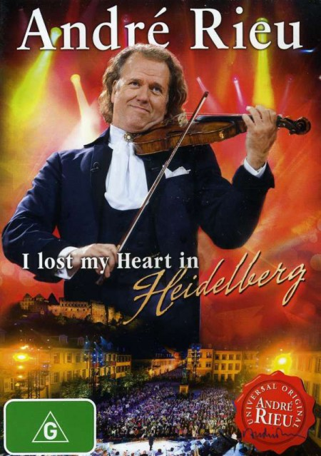 André Rieu: I Lost My Heart In Hiedelberg - DVD
