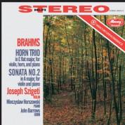 Joseph Szigeti, Mieczyslaw Horszowski, John Barrows: Brahms: Horn Trio, Sonata No. 2 - Plak