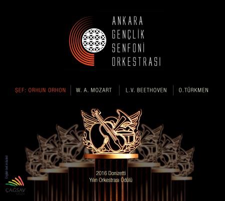 Ankara Gençlik Senfoni Orkestrası, Orhun Orhon: Mozart, Beethoven, Türkmen - CD
