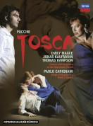 Chorus and Orchestra of the Opernhaus Zürich, Emily Magee, Jonas Kaufmann, Paolo Carignani, Thomas Hampson: Puccini: Tosca - DVD