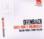 Roland Pidoux, Etienne Péclard: Offenbach: Suites for two cellos - CD
