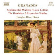 Douglas Riva: Granados, E.: Piano Music, Vol.  7 - Sentimental Waltzes / 6 Expressive Studies - CD