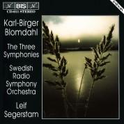 Swedish Radio Symphpny Orchestra, Leif Segerstam: Blomdahl: The Three Symphonies - CD