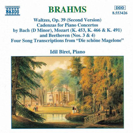 İdil Biret: Brahms: Waltzes / Cadenzas / Die Schone Magelone - CD