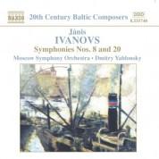 Ivanovs: Symphonies Nos. 8 and 20 - CD