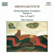 Shostakovich: String Quartets Nos. 1, 8 and 9 - CD