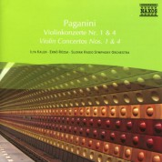 Çeşitli Sanatçılar: Paganini: Violin Concertos Nos. 1 and 4 - CD