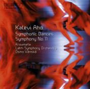 Kroumata Percussion Ensemble, Lahti Symphony Orchestra, Osmo Vänskä: Aho: Symphony No.11 - CD
