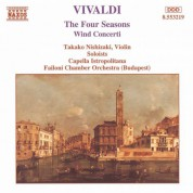 Takako Nishizaki: Vivaldi: 4 Seasons (The) / Wind Concertos - CD