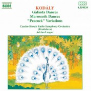 Kodaly: Galanta Dances / Marosszek Dances / The Peacock - CD