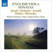 Martin Outram: English Viola Sonatas - CD