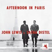 John Lewis, Sacha Distel: Afternoon In Paris - Plak