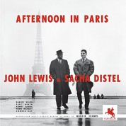 John Lewis, Sacha Distel: Afternoon In Paris - Plak