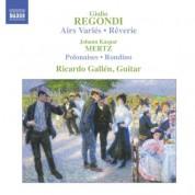 Regondi: Airs Varies / Reverie, Op. 19 / Mertz: Bardenklange, Op. 13 - CD