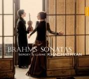 Sergey Khachatryan, Lusine Khachatryan: Brahms Sonatas - CD