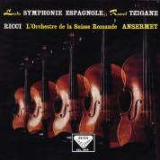 Ruggiero Ricci, Orchestre de la Suisse Romande, Ernest Ansermet: Lalo: Symphonie espagnole / Ravel: Tzigane - Plak