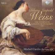 Michel Cardin: Weiss: The Complete London Manuscript - CD