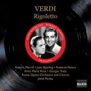 Jussi Bjorling: Verdi: Rigoletto (Bjorling, R. Peters, Merrill) (1956) - CD