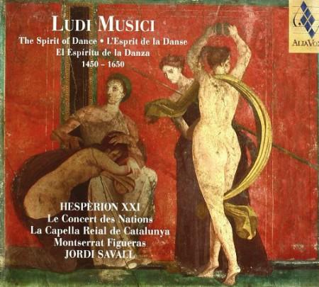 Hespèrion XXI, Jordi Savall: Ludi Musici: The Spirit of Dance, 1450-1650 - CD