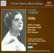 Verdi: Aida (Caniglia, Gigli) (1946) - CD