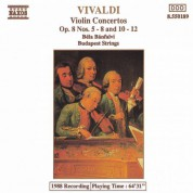 Vivaldi: Violin  Concertos Op. 8, Nos. 5-8 and 10-12 - CD