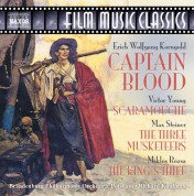 Korngold: Captain Blood / Steiner: The Three Musketeers / Young: Scaramouche - CD