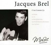 Jacques Brel: C'Est Comme Ca - CD