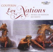 Musica ad Rhenum, Jed Wentz: Couperin: Les Nations - CD
