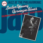 Lester Young: Carnegie Blues - Jazz At The Philharmonic - Plak