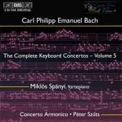 Miklós Spányi, Concerto Armonico, Péter Szűts: C.P.E. Bach: Keyboard Concertos, Vol. 5 - CD