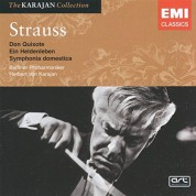 Mstislav Rostropovich, Ulrich Koch, Berliner Philharmoniker, Herbert von Karajan: Strauss: Symphonic Poems (Don Quixote, Sinfonia Domestica, Ein Heldenleben) - CD