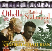 Adriano, Slovak Radio Symphony Orchestra: Khachaturian: Othello Suite & The Battle of Stalingrad Suite - CD