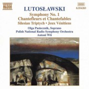 Polish National Radio Symphony Orchestra, Antoni Wit: Lutoslawski: Symphony No. 1 - Chantefleurs Et Chantefables - CD