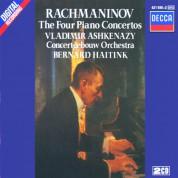 Bernard Haitink, Concertgebouw Orchestra Amsterdam, Vladimir Ashkenazy: Rachmaninov: Piano Concertos 1 - 4 - CD