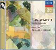 Riccardo Chailly, Royal Concertgebouw Orchestra: Hindemith: Kammermusik - CD
