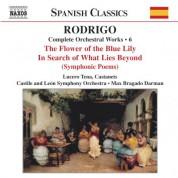 Rodrigo: Per La Flor Del Lliri Blau / A La Busca Del Mas Alla (Complete Orchestral Works, Vol. 6) - CD