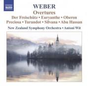 Antoni Wit: Weber, C.M. Von: Overtures - CD