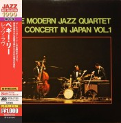 The Modern Jazz Quartet: Concert In Japan Vol.1 - CD