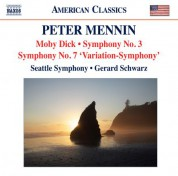 Gerard Schwarz, Seattle Symphony Orchestra: Mennin: Moby Dick - Symphonies Nos. 3 and 7 - CD