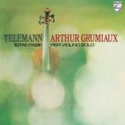 Arthur Grumiaux: Telemann: 12 Fantasias For Violin Solo - Plak